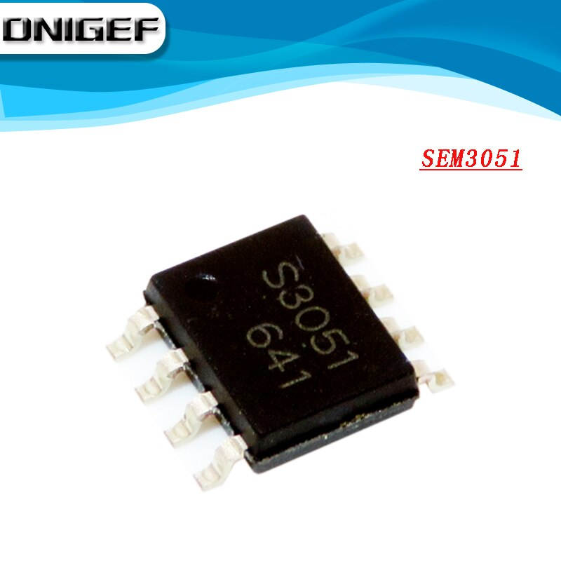 Dnigef (1 peça) 100% novo chipset s3051 sem3051 sop8