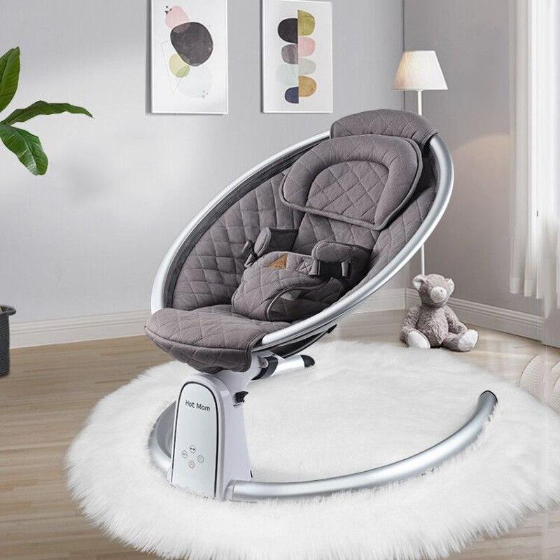 Baby Electric Rocking Chair Newborn Adjustable Rocking Bed Hotmom Cradle Bed enlarge