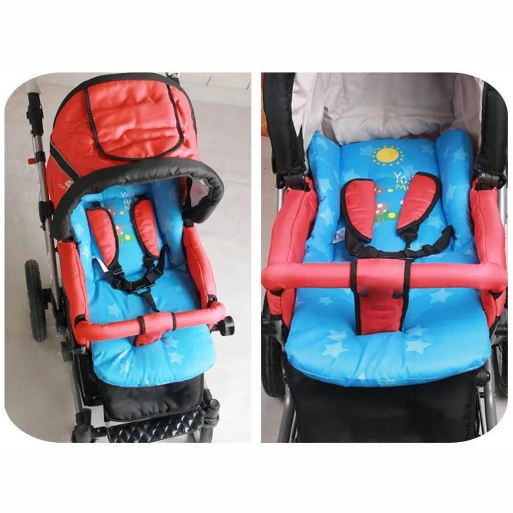 New Comfortable Baby Stroller Pad Four Seasons General Soft Seat Cushion Child Car Mat Kids Pushchair For 78cm