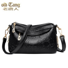 OLSITTI High Quality Solid Color Leather Shoulder Bags for Women 2021 Luxury Handbags Fashion Casual