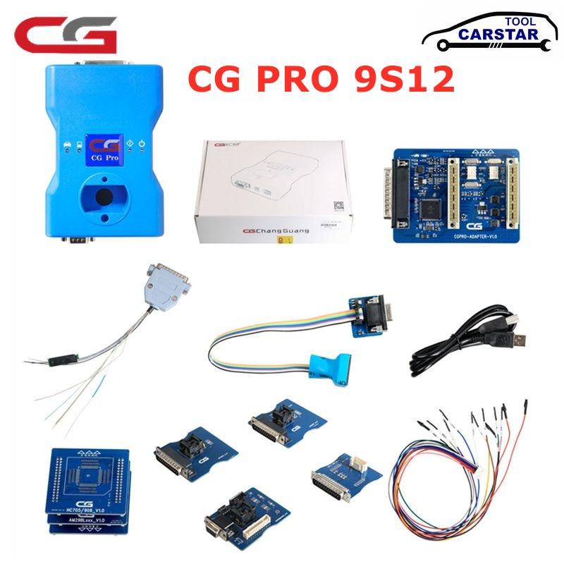 CGDI CG Pro 9S12 nouvelle génération de CG-100 CG100 pour programmeur de clé BMW avec adaptateur CAS4 DB25/TMS370