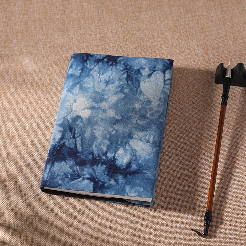 A5/A6 Notebook Refill Blue Dyed Cotton Cover Handbook Hand Made Cloth Case Moterm Art Book-cover Notebooks Protective Case