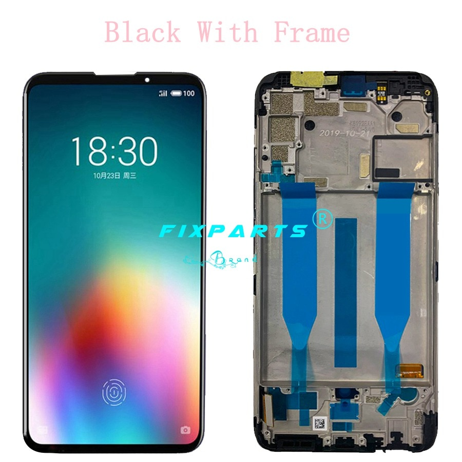 AMOLED Screen For Origianl MEIZU 16T LCD Display Touch Screen Digitizer Assembly Replacement Parts for 6.5