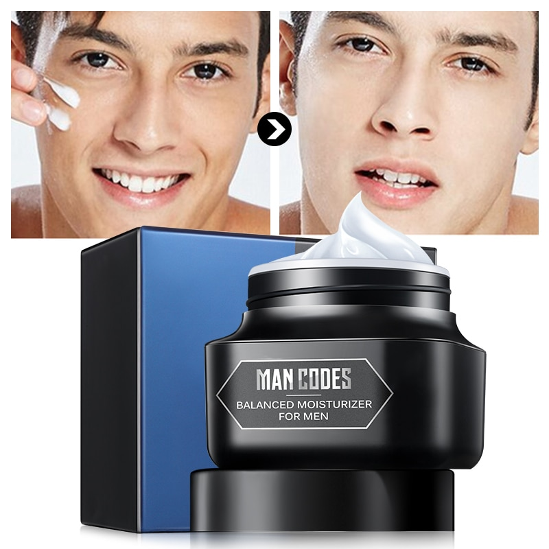 JOYCODES 50g Men Anti Aging Face Cream Hyaluronic Acid Moisturizing Facial Cream Anti Wrinkle Whitening Day Cream For Mens