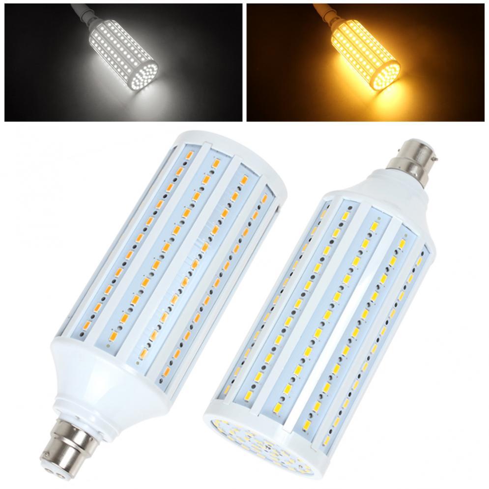 B22 30W 165x5730 SMD luz LED Super luz cálida bombilla blanca/blanca