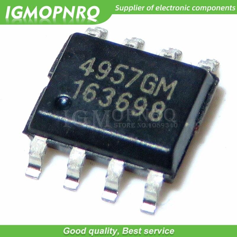 5pcs Free shipping AP4957AGM AP4957 4957AGM SOP8 offen use laptop chip 100% new original