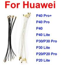 Antenna Signal Flex Cable For Huawei P20 P30 P40 Pro P30 Lite P40 Lite P40 Pro+ Wifi Coaxial Connect