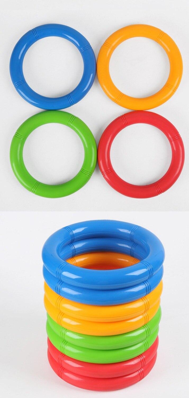 1 Uds anillo de gimnasia baile de guardería equipo deportivo niños fitness deportes juguetes de plástico