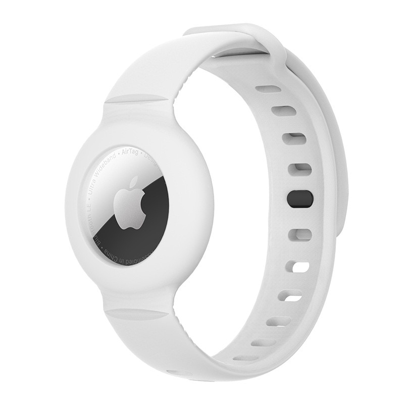 HOT SALE Bracelet For AirTag Anti-Lost Silicone Case Protective Cover Design For Apple Airtag Tracking Locator Wristband недорого