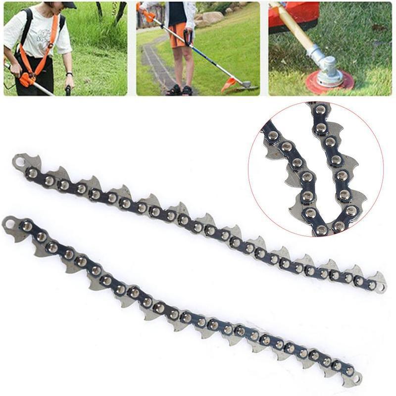 1 шт. электрическая цепь для газонокосилки, нейлоновая бензиновая цепь для газонокосилки, многофункциональная цепь для газонокосилки