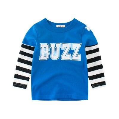 Camisetas de dibujos animados de moda para niños, camisetas de verano de manga larga, camisetas de algodón, ropa para niños, camiseta de dibujos animados para niños