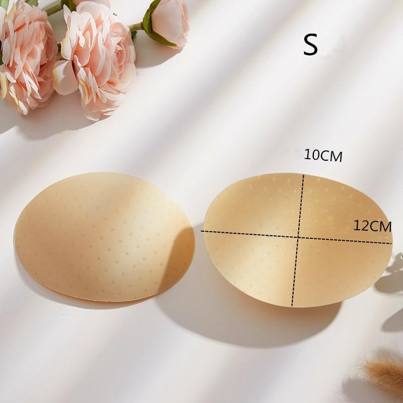 USHINE S/M/L 1 pair women intimate accessories sponge Bikini pads swimsuit breast push up enhancing bra foam inserts