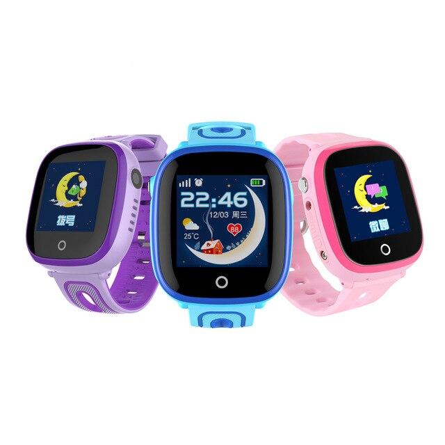 ساعة ذكية للأطفال لتحديد المواقع مراقبة آمنة طفل الرياضة الفرقة ساعة اليد مع كاميرا دعم SIM الطلب SOS دعوة لتحديد المواقع المقتفي