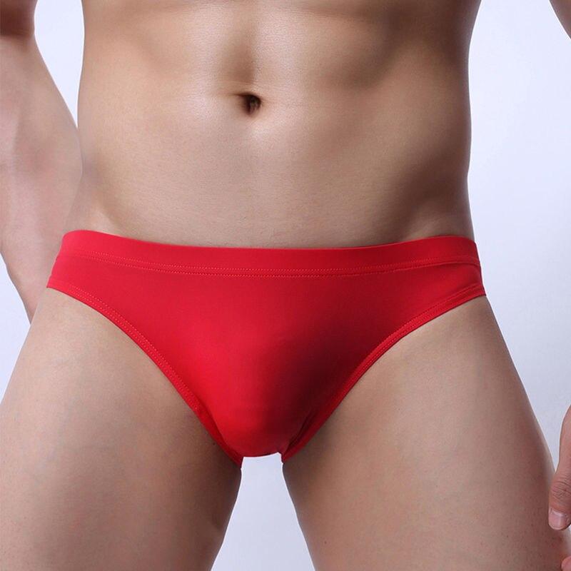 High Quality Men Briefs Underwear Men\'s Sexy Fashion Mini Briefs Bikini Underwear Man U Convex Pant