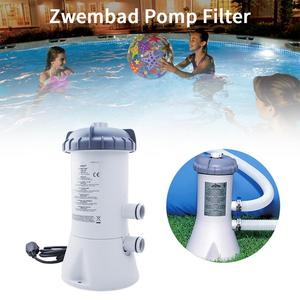 Pool Filter Pump Reusable Washable  Swimming Pool Above Ground Filter and Pump for Accessories Garden Supplie Cleaning Tools
