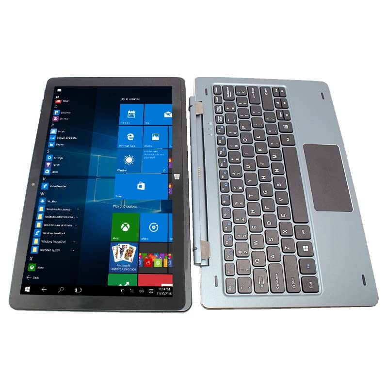 """11.6"""" LCD Screen NC01 TabletPCWith Pin Docking Keyboard 4+128GB Windows 10 Tablets Wifi Bluetooth-compatible With DualCameras"""