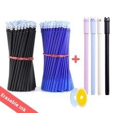 25 teile/satz Löschbaren Gel Stift Minen Stange 0,5mm Waschbar Griff Magie Löschbaren Stift für Schule Stift Schreiben Werkzeuge Kawaii schreibwaren