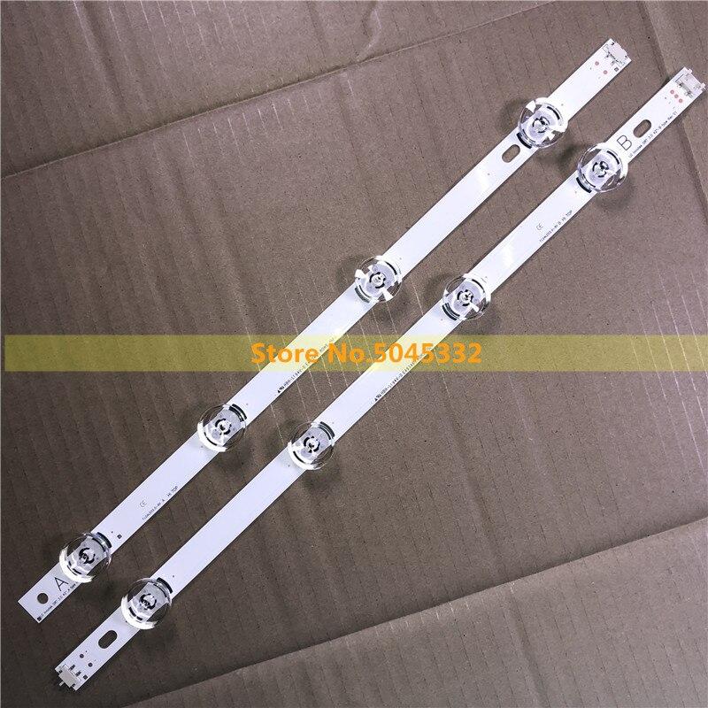 Tira de LED para LG INNOTEK DRT 3,0 42 A/B tipo 6916L-1956B 1957B 42LB5610 42LB5510 42LY320C 42GB6310 reemplazo de NC420DUN-VUBP1