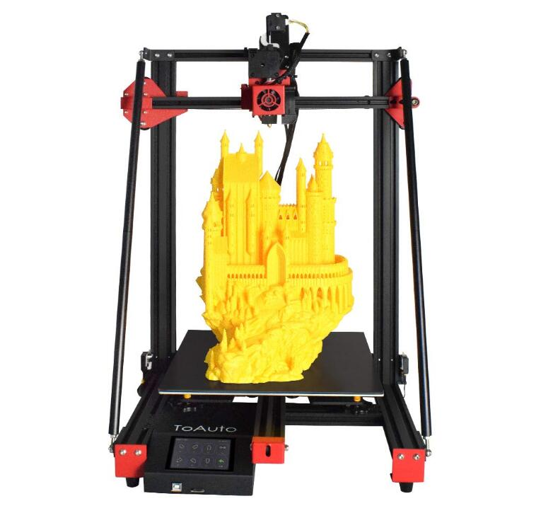 3D Printer Kit Titan Direct Drive, Silent Mainboard, Resume Printing, 3.5 inch LCD Touch Screen for Creative Artist