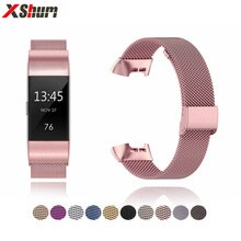 Metal Fitbit Charge 3 4 SE Band Strap For Fitbit Charge 2 Band Accessories Bracelet Milanese Strap F
