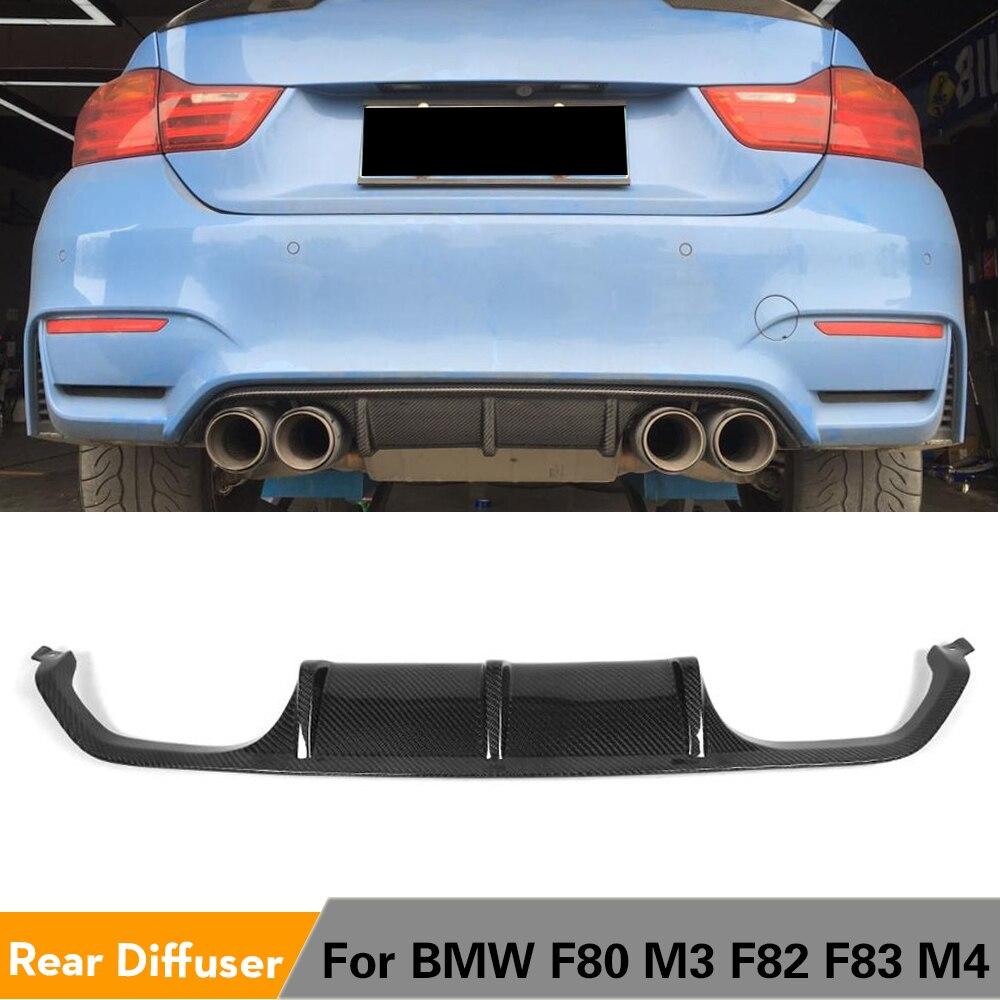 شفرة المصد الخلفي لسيارات BMW ، ملحقات السيارة ، BMW F80 M3 F82 F83 M4 Coupe Sedan Convertible 2014 - 2018 ، ألياف الكربون/FRP