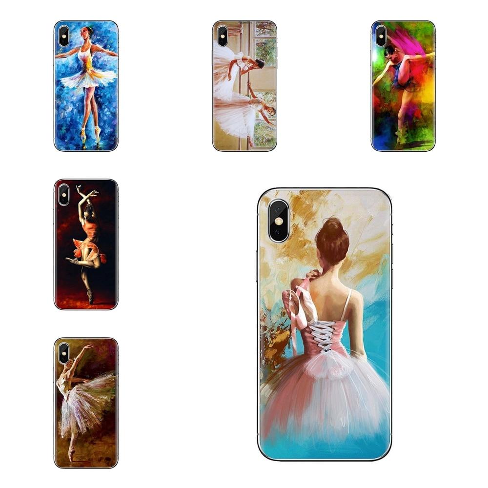 Bailarina chica pintura al óleo transparente TPU carcasa para Oneplus 3T 5T 6T Nokia 2 3 5 6 8 9 230, 3310, 2,1, 3,1, 5,1, 7 2017, 2018