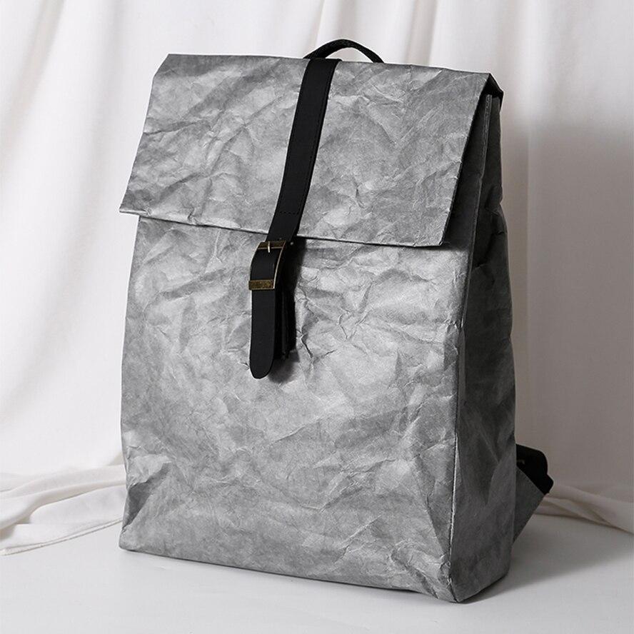 Tyvek-حقيبة ظهر نسائية صلبة ، حقيبة دائرية بسيطة ، حقيبة Tyvek عالية الجودة ، سعة كبيرة ، 2021