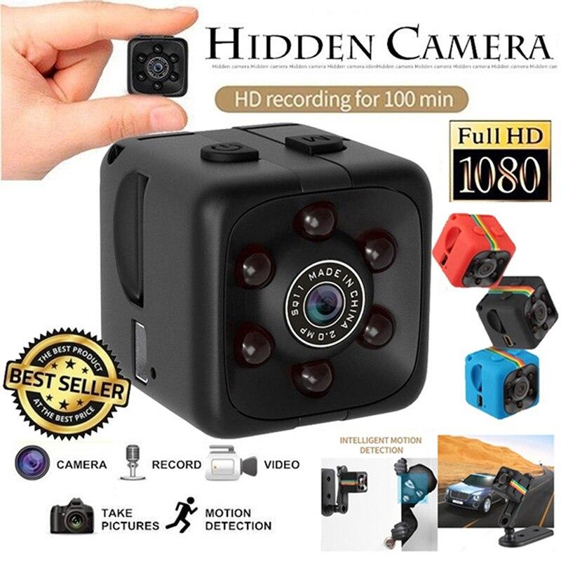 SQ11 960/1080P Мини-Камера спортивная DV инфракрасная камера ночного видения Автомобильная DV Цифровая видео широкоугольный угол обзора 1 шт.