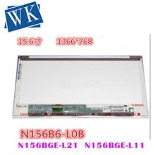 Free Shipping  15.6LED  N156B6-LOB BT156GW01 HB156WX1 N156BGE-L21 N156B6-L02  Laptop LCD Screen Panel