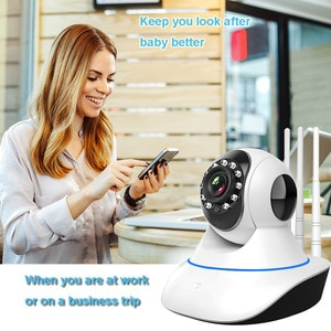 Two Way Audio Night Vision Smart CCTV Camera Baby Monitor WiFi IP Camera 1080P HD Home Security Camera Indoor Motion Detection