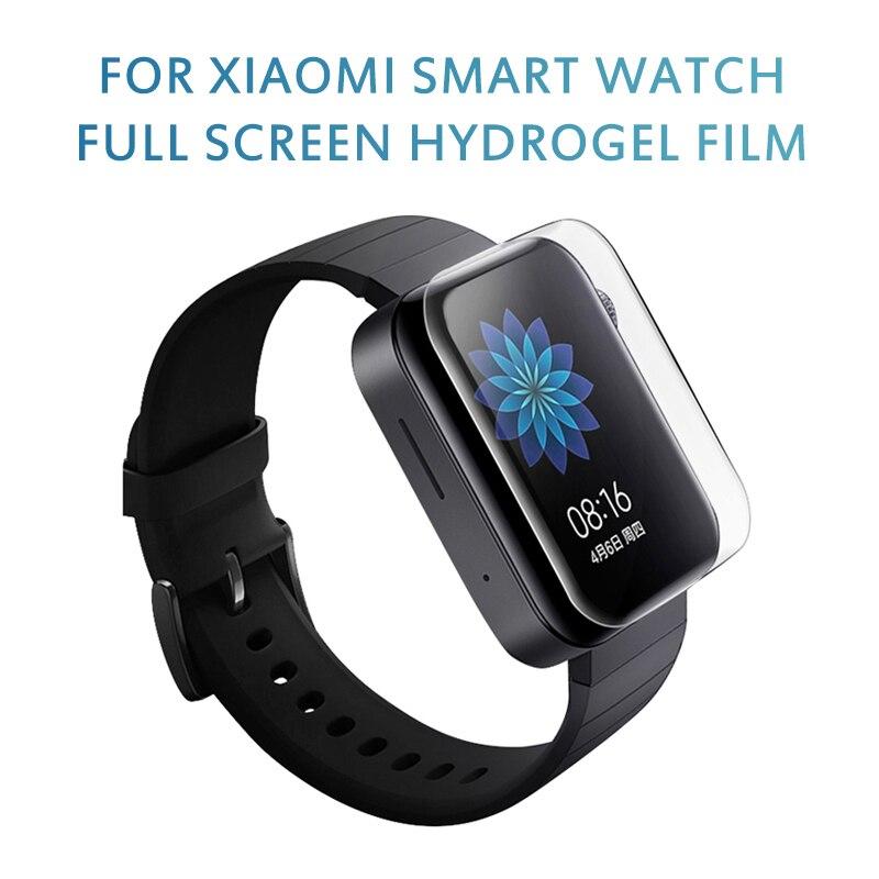 Película de hidrogel templado para reloj inteligente Xiaomi, película de reloj transparente resistente a arañazos, pantalla protectora, película impermeable