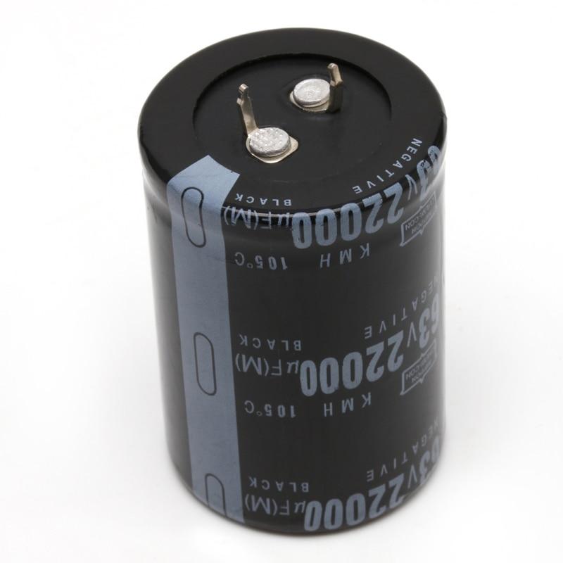 Алюминиевый электролитический конденсатор K9FA, 22000 мкФ, 63 в, 105 °C, размер 35x50 мм, цилиндрический
