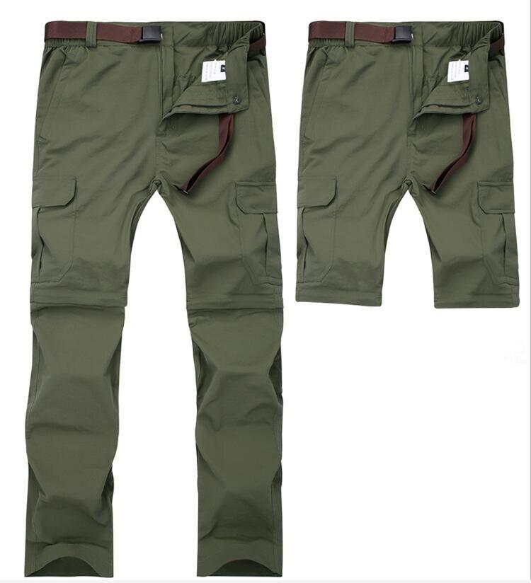 Брюки-карго мужские со съемными карманами, Джоггеры в стиле милитари, быстросохнущие дышащие водонепроницаемые тактические штаны, 7XL, на ле...