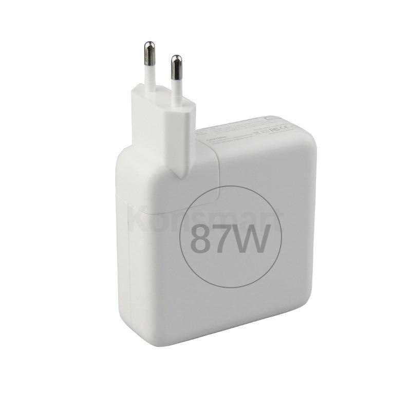 Konsmart 87 Вт PD зарядное устройство для Apple 15 дюймов Macbook Pro iPad mini iPhone 11 XR XS Max USB TypeC адаптер питания для ноутбука быстрая зарядка