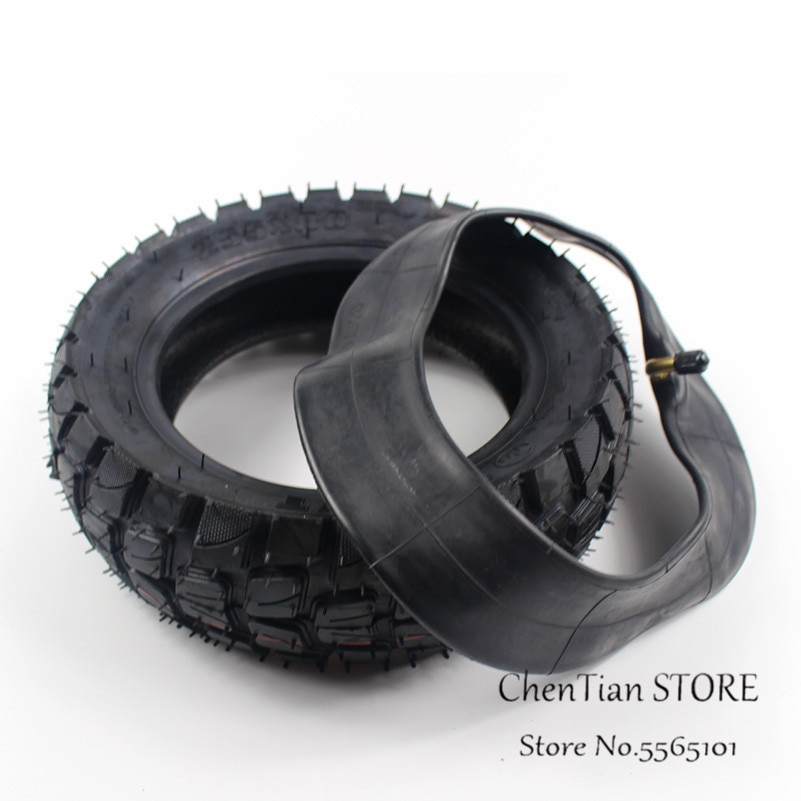 Neumático de carretera de 10 pulgadas 255x80, scooter Eléctrico espesado, neumático hinchable sin 10x kaabo mantis, pieza neumática