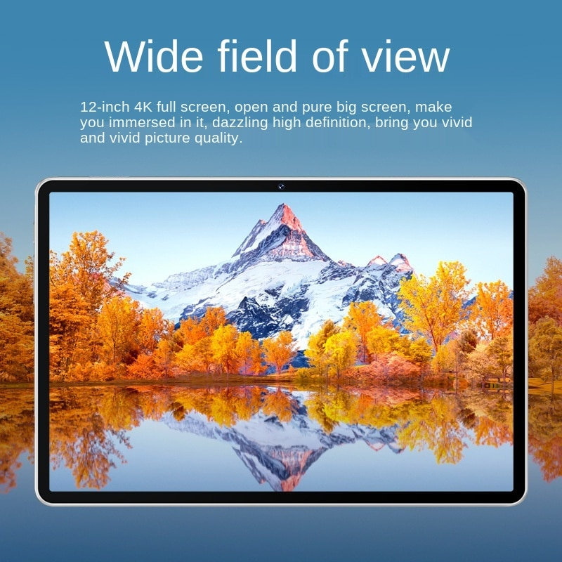 2021 new tablet Allwinner A133 HD 2K screen Android system IPS screen Google WIFI version enlarge