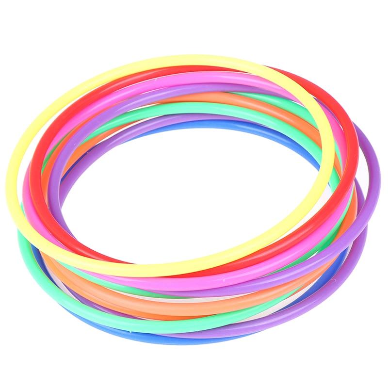 5 шт., забавные пластиковые игрушки-кольца для детей