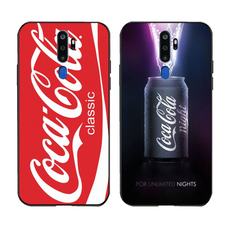 PENGHUWAN, bebida de cola Kola Art, funda de teléfono para Oppo A5 A9 2020 A5S Reno2 z Renoace 3pro Realme5Pro
