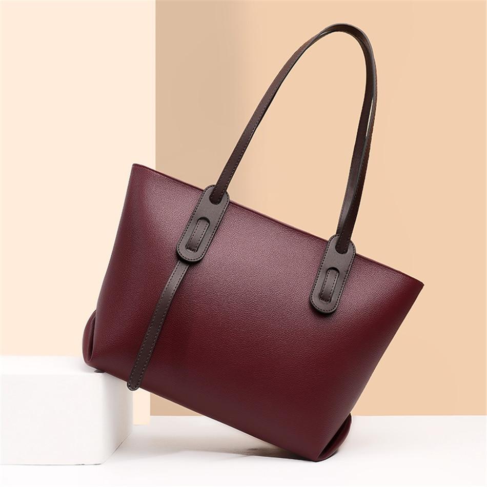Luxury Handbags Women Bags Designer Feminina Bolsa Female Shoulder Hand Bag Brand Sac Ladies Leather Top-handle Bags Casual Tote