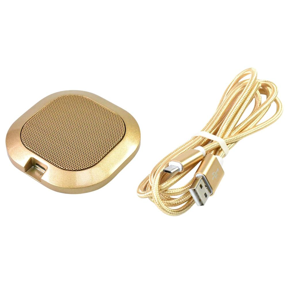 -40dB USB llamada con manos libres sala de reuniones escritorio ordenador de sobremesa micrófono omnidireccional portátil Video conferencia oficina en casa