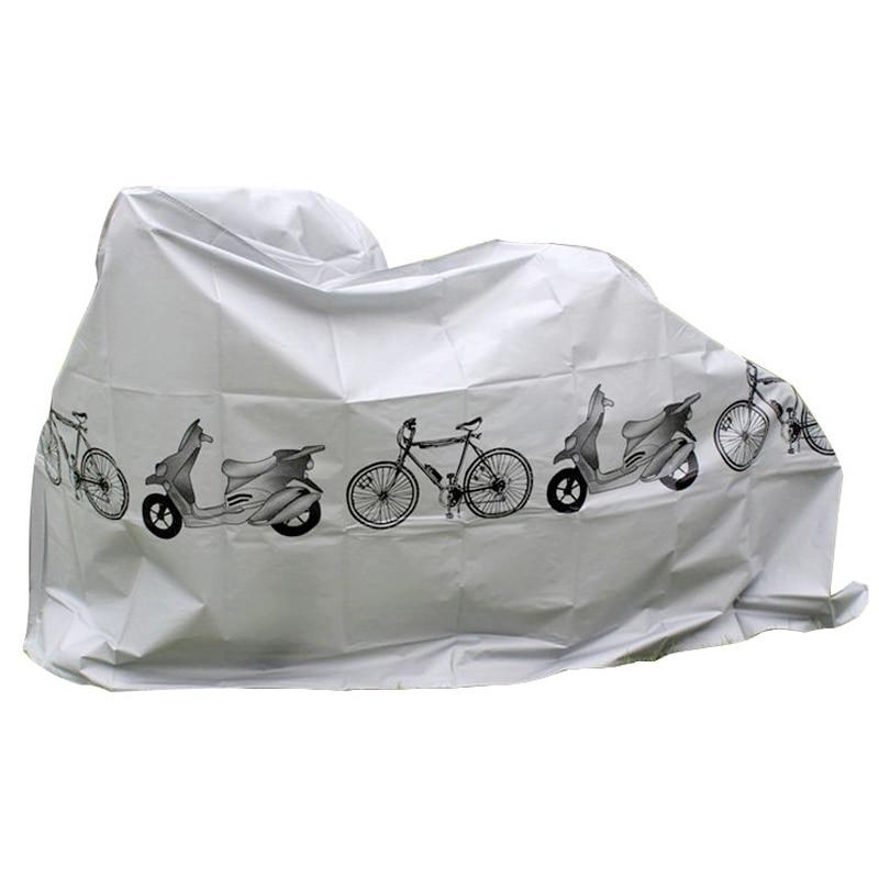 Cubierta impermeable para motocicleta refugio lluvia UV protección para toda condición climática para bicicleta motocicleta H7JP