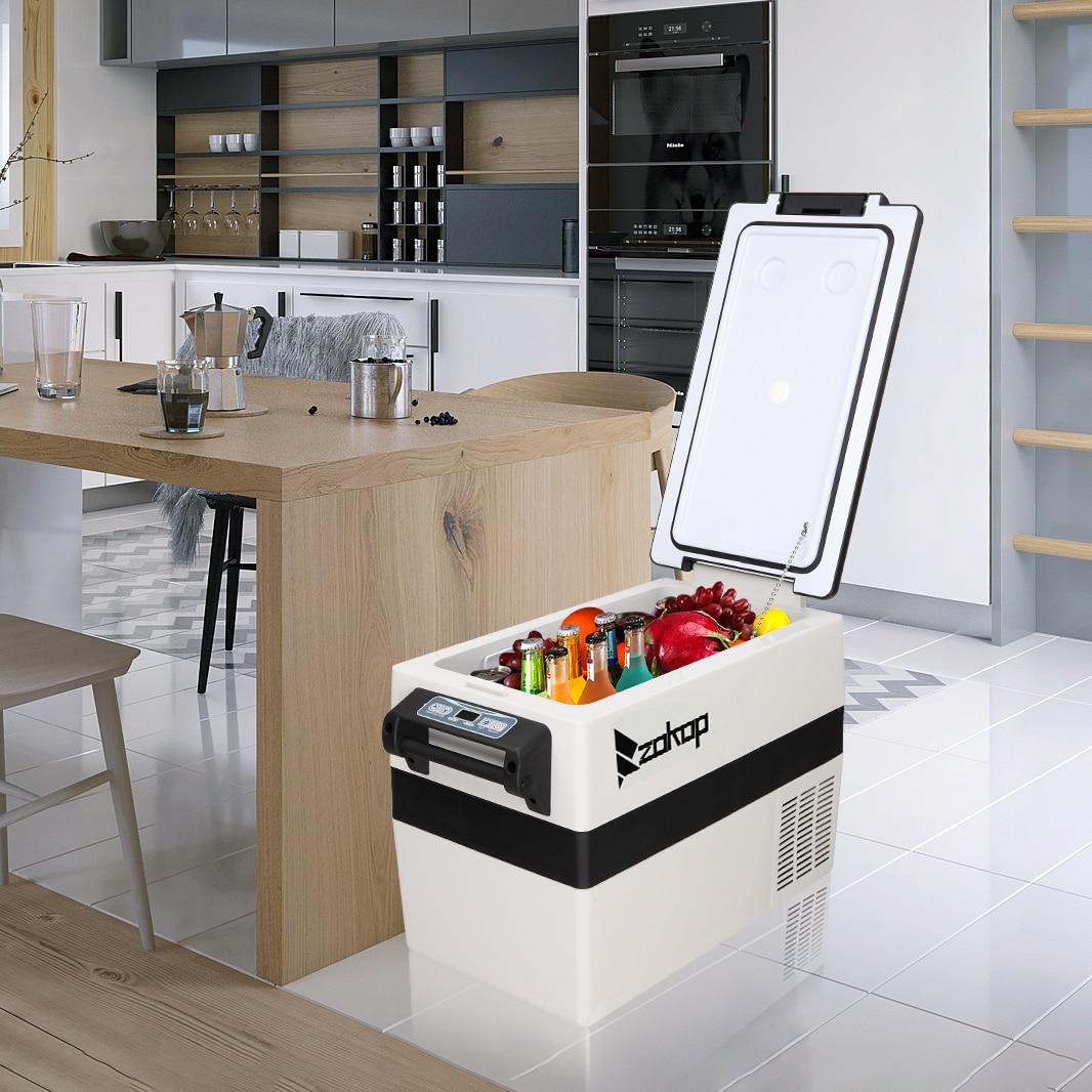 42l Car Refrigerator 12v/24v Compressor Freezer Portable Car Fridge Cool With Digital Display For Home Travel Camping enlarge