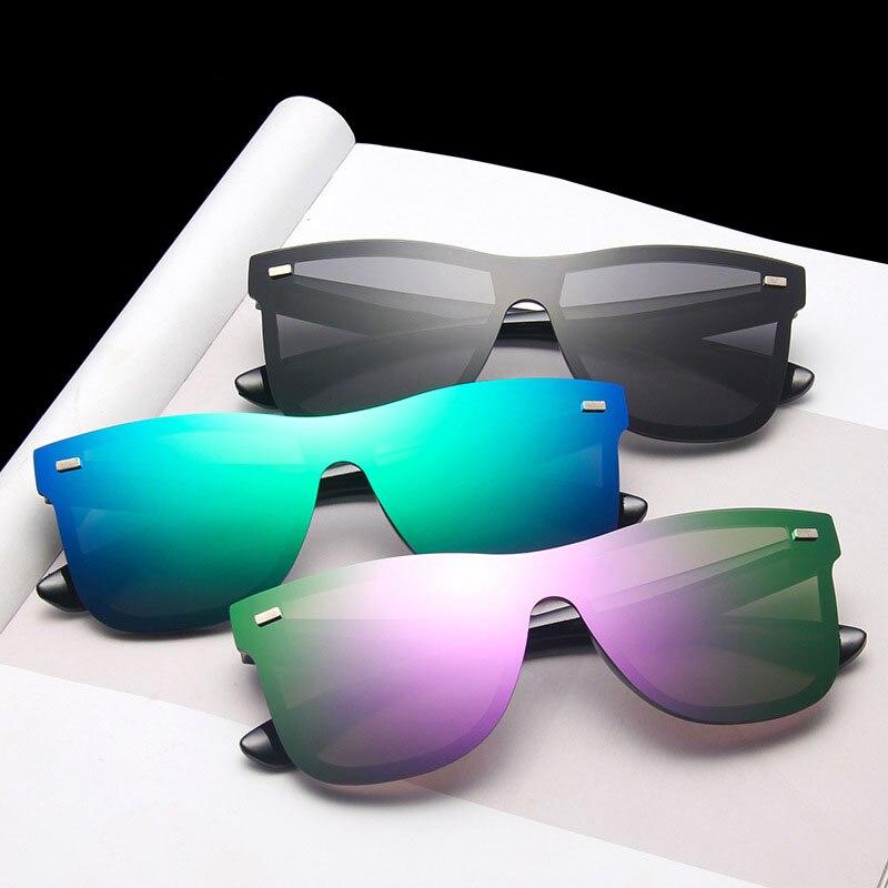 Oversize Sunglasses Men Women Coating Lens Glasses Fashion 2020 Sun Glasses Brand Designer Shades Vi