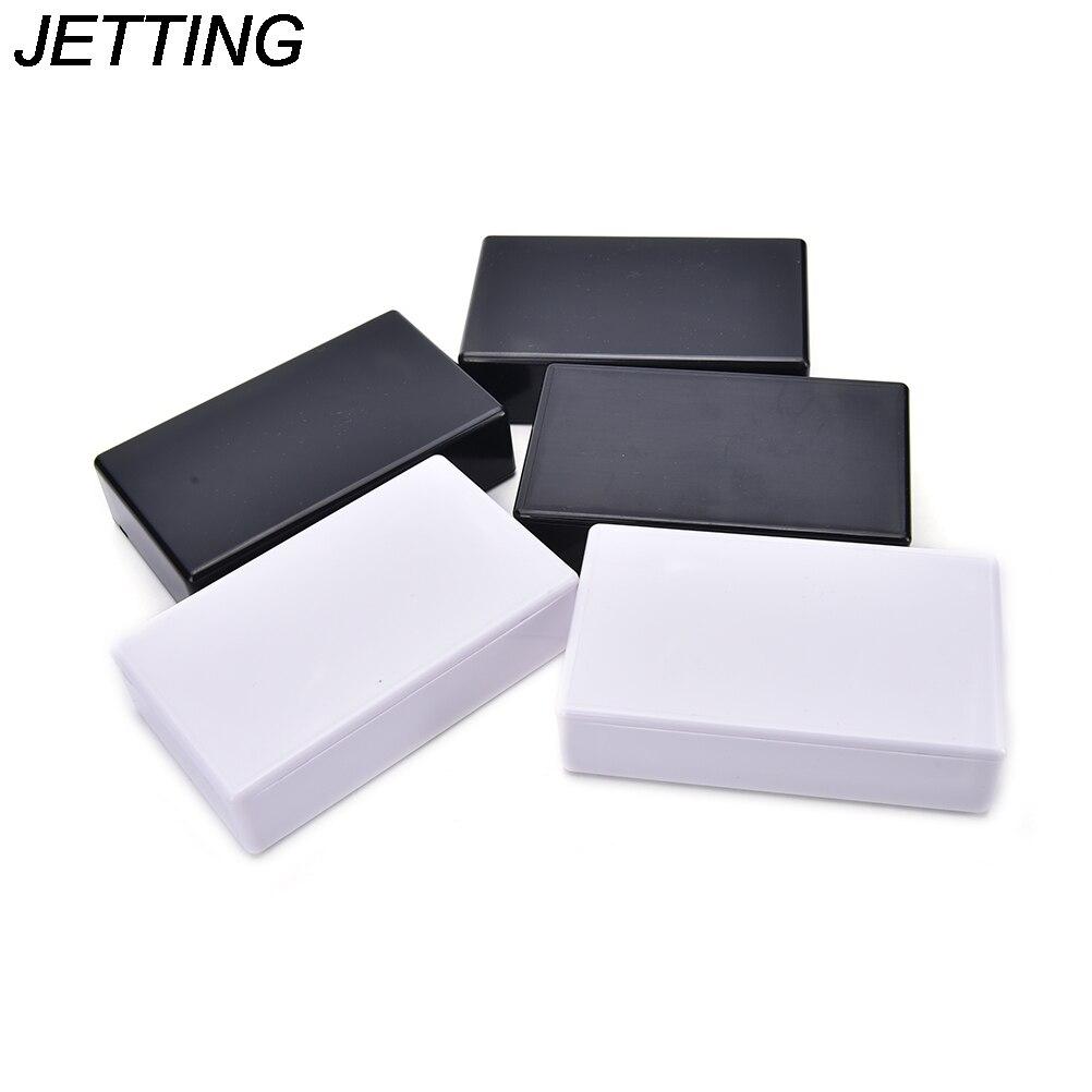 5 pces caixa de projeto eletrônico plástico gabinete instrumento caixa branco 100x60x25mm