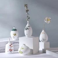 european style vase ornaments floral flower pot living room modern light luxury style home decor artificial decoration