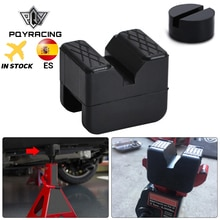Floor Jack Pad Rubber Universal Slotted Guard Portable Anti Slip Vehicle Square Accessories Frame Rail Car Repair Adapter