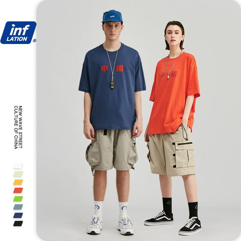 Camiseta de algodón para hombre de moda china camisetas de moda para hombre 2020 a la moda divertidas camisetas de manga corta para hombre 91118S