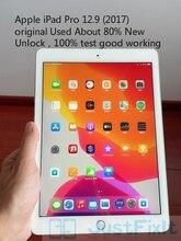 Original remise à neuf Apple IPad pro 2017 A1670 12.9 pouces Wifi Version noir blanc environ 80% nouveau déverrouillage