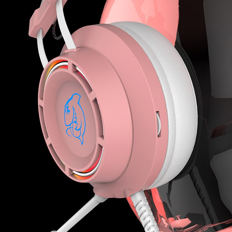 DHG160 Gaming Headset 7.1 Surround Stereo Sound Over-head Headset With Microphone Earphones Headphones Portable Audio enlarge