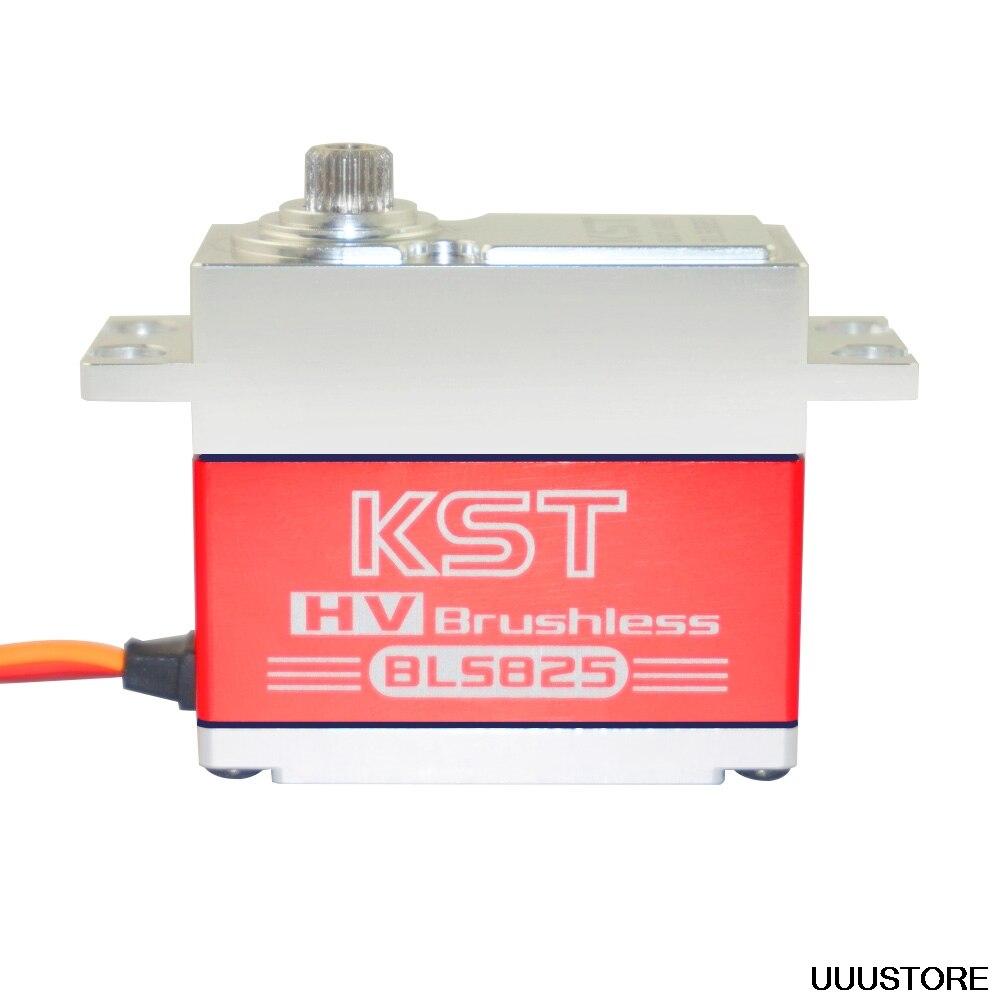 KST BLS825 70g/35 kg/0.11 sec HV sans brosse servo numérique pour avion RC 1/8 voiture Buggy